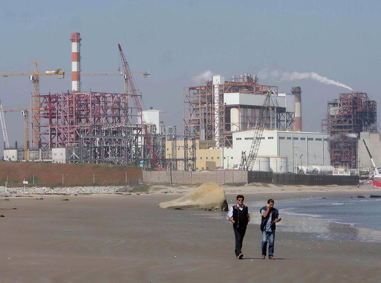Contaminación en playas de Quintero