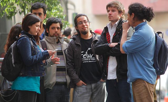 Los universitarios rompieron la mesa de diálogo /Agencia Uno
