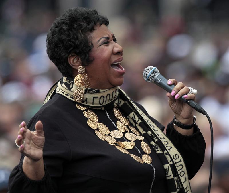 'Diva del soul' Aretha Franklin anuncia que no dará más conciertos