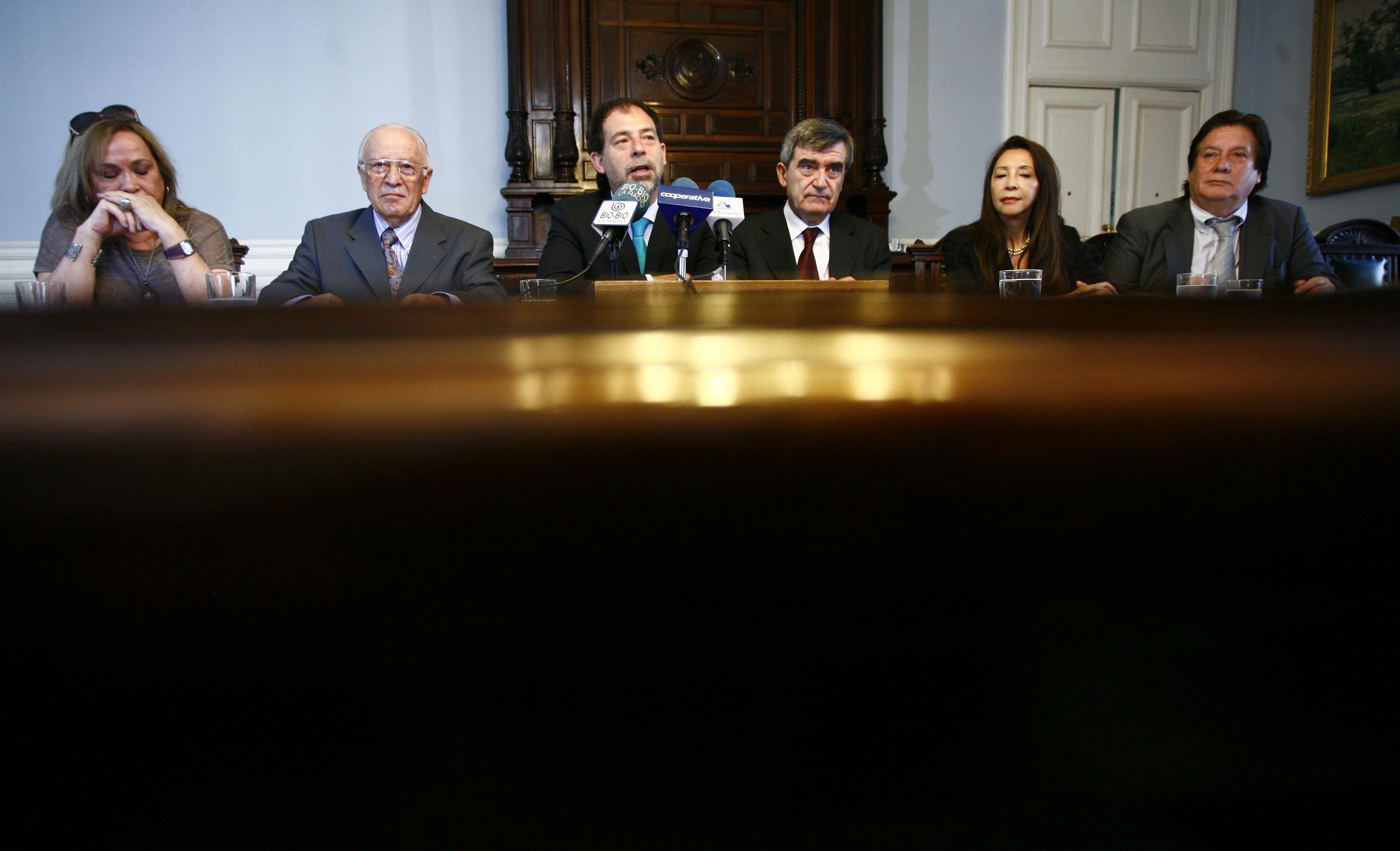 Guido Girardi y Camilo Escalona