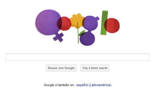 Google festeja a las mujeres con un Doodle