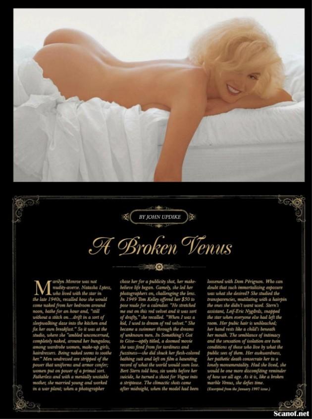 Fotos Los Desnudos De Marilyn Monroe Que Playboy Guard Por