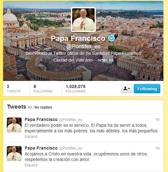 /Twitter-@Pontifex_es