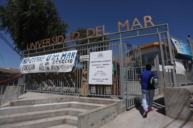 Cierre de Universidad del Mar ha costado $35 mil millones