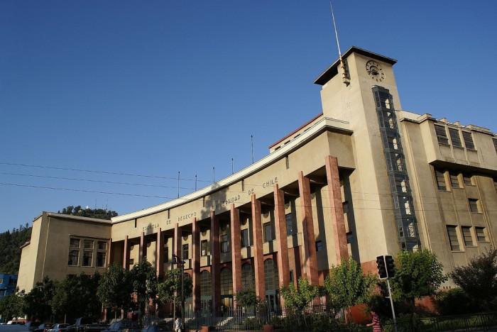 Resultado de imagen para facultad de derecho universidad de chile