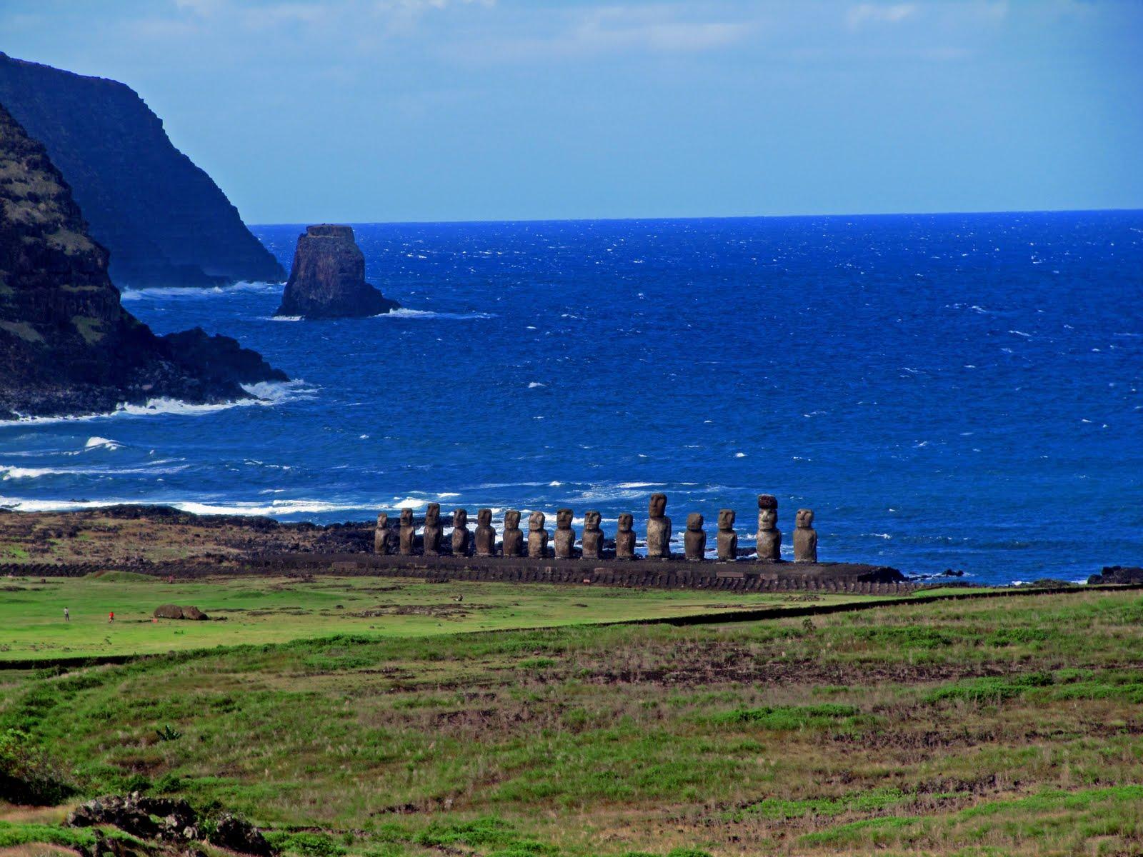 Moais Isla de Pascua