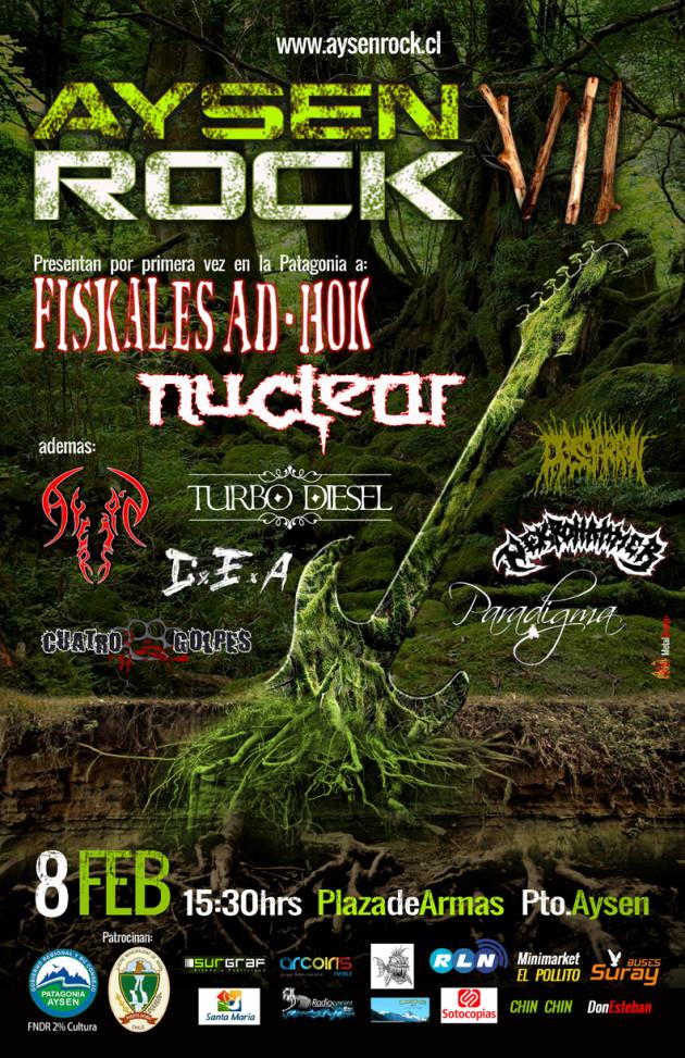 afiche AysenRock VII