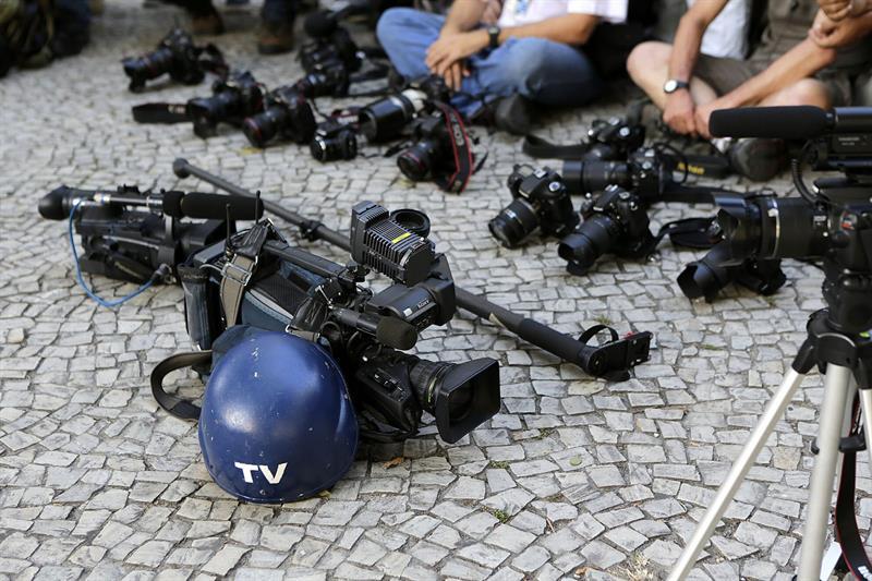 homenaje a camarógrafo muerto / EFE