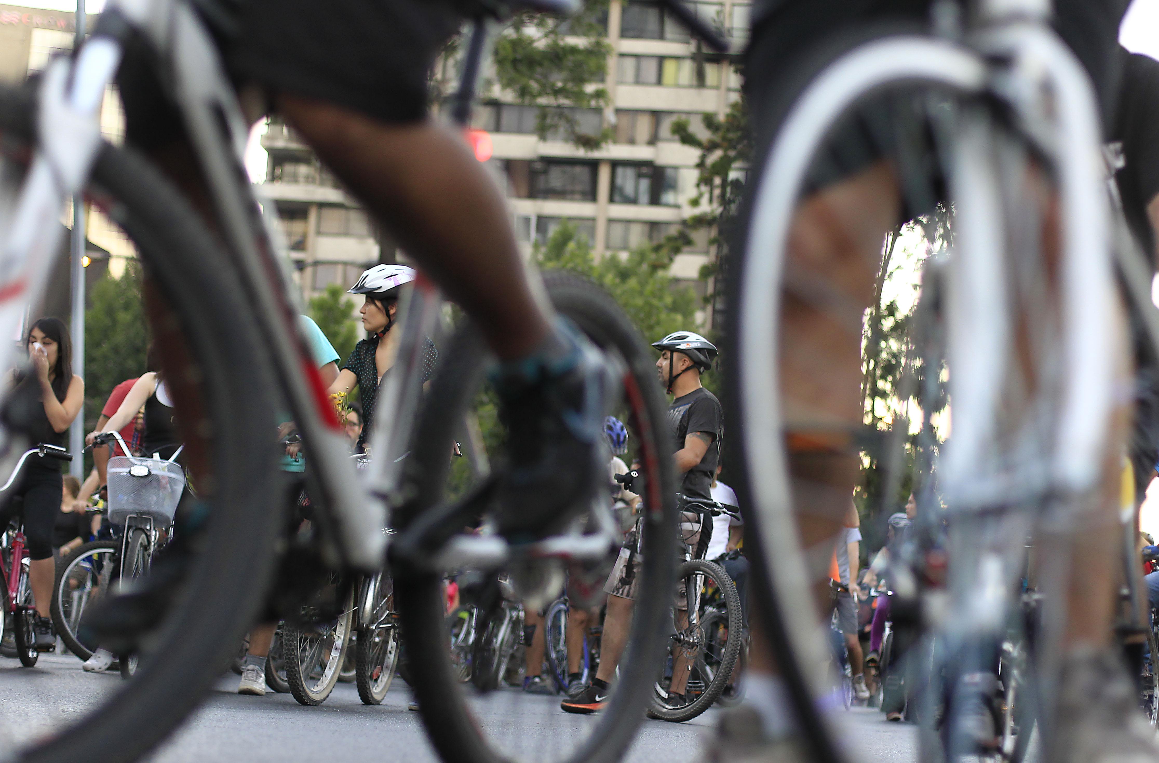 Cicletada del movimiento Ciclistas Furiosos