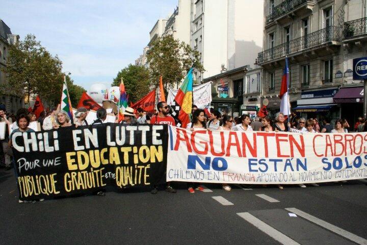 Marcha en Francia