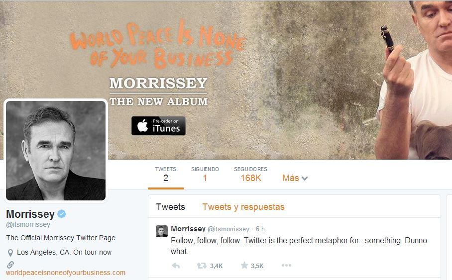 Twitter Morrissey