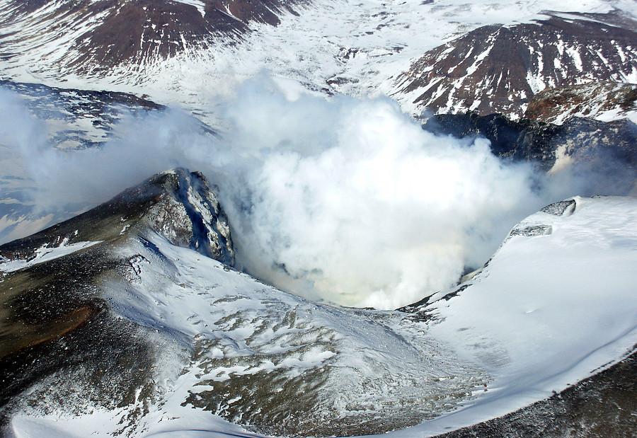 Volcán Copahue, Junio 2013 / Agencia Uno