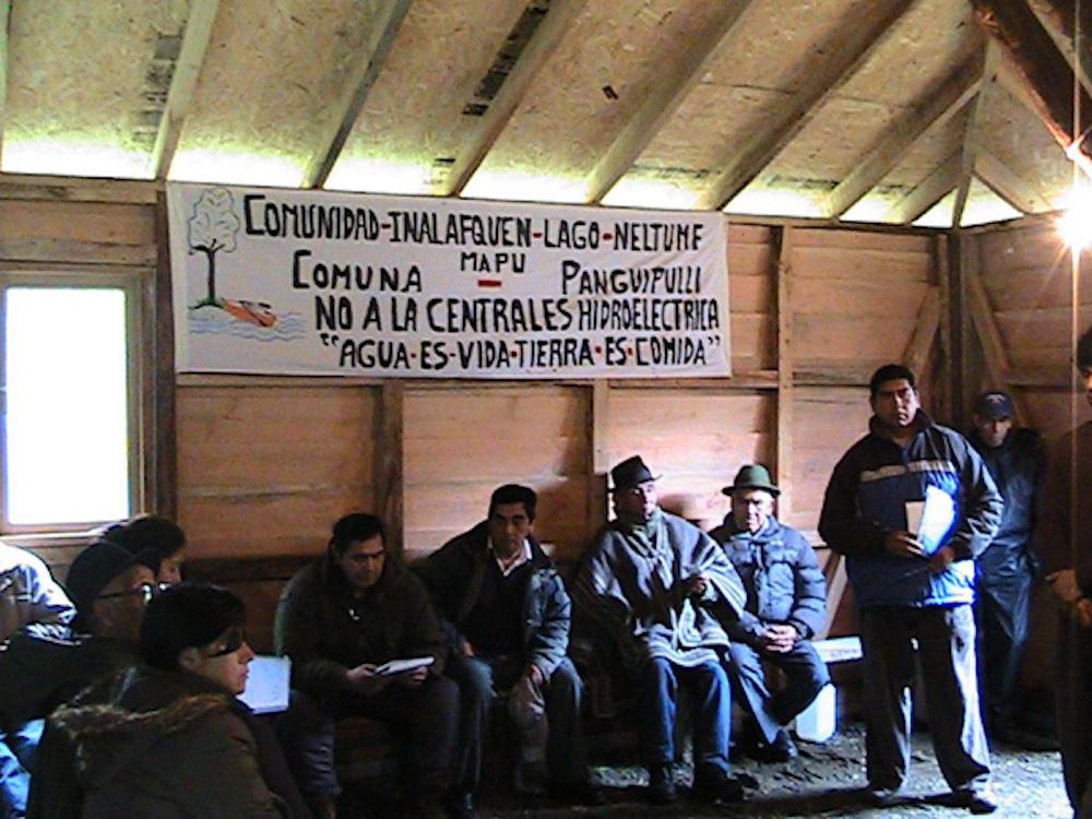 neltume comunidades mapuche dos