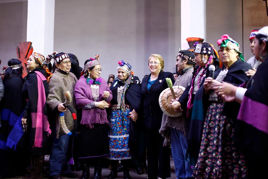 bachelet agenda indígena