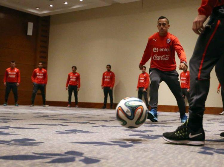 entrenamiento selección chilena hotel 7