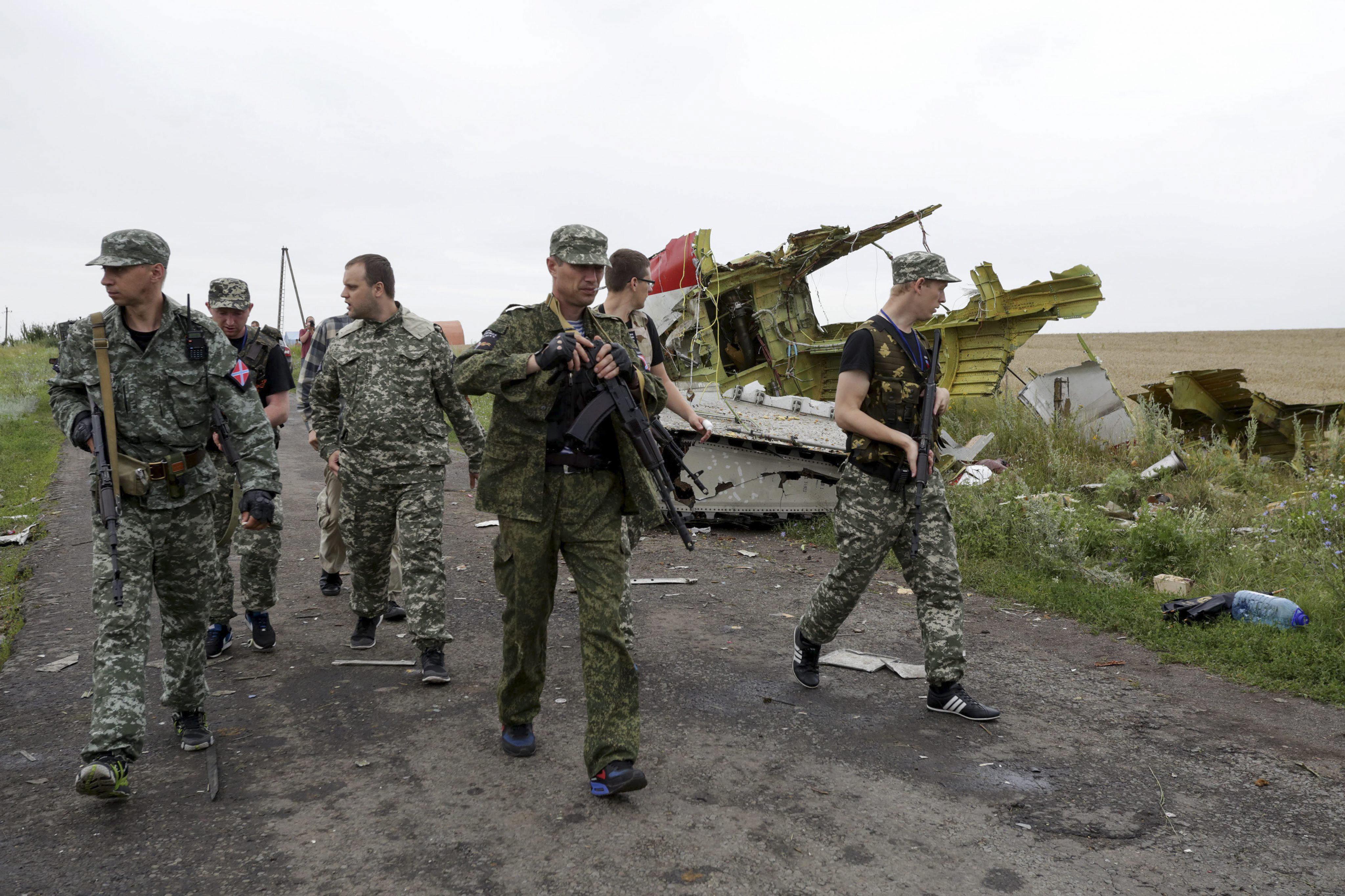 [Video] Revelan supuesto diálogo entre rebeldes prorrusos sobre avión derribado
