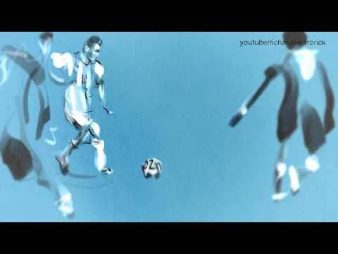 [Videos] Artistas reviven los mejores goles del Mundial de Fútbol a través de sus obras