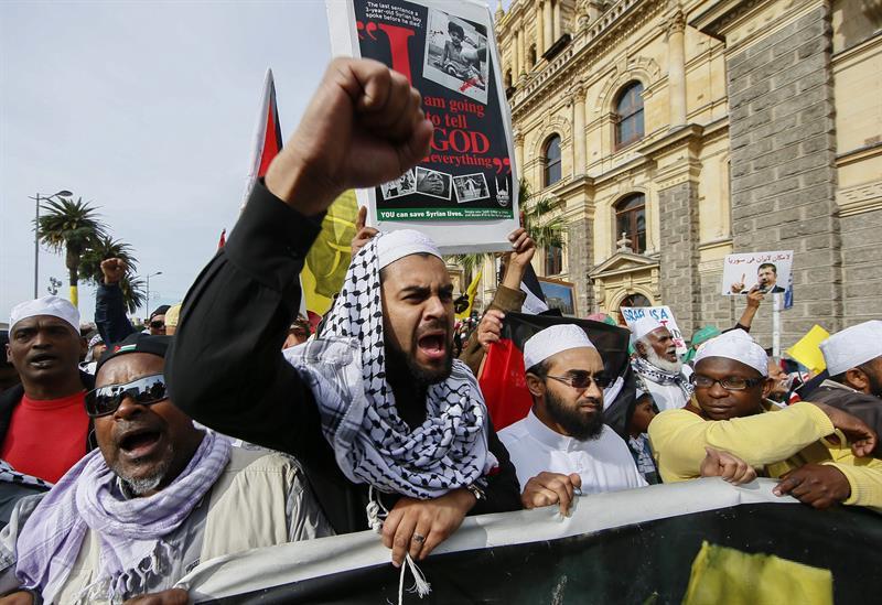 protesta gaza