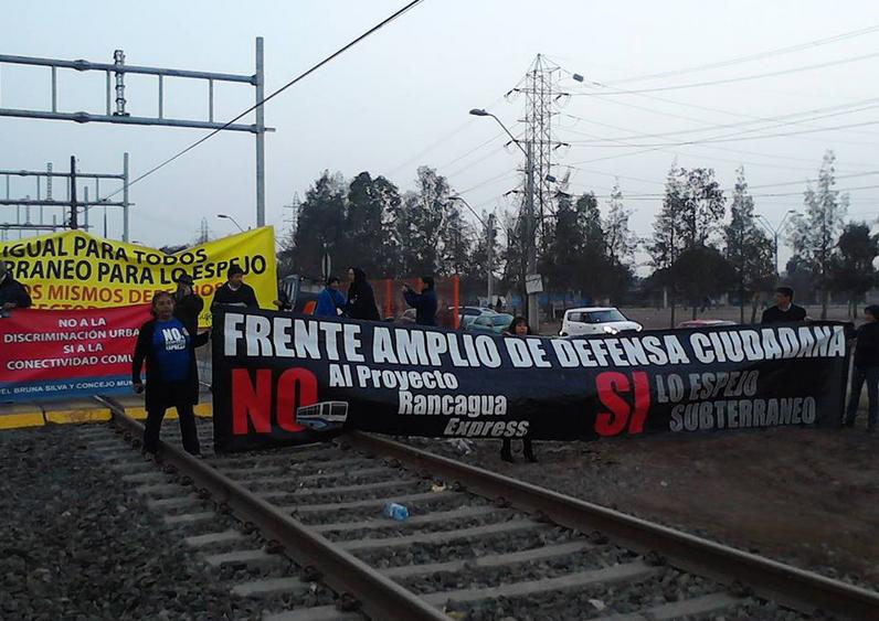 Vecinos del sur de santiago denuncian negaci n de justicia for Lo espejo 03450 san bernardo