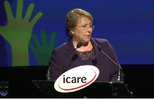 Michelle Bachelet en enade