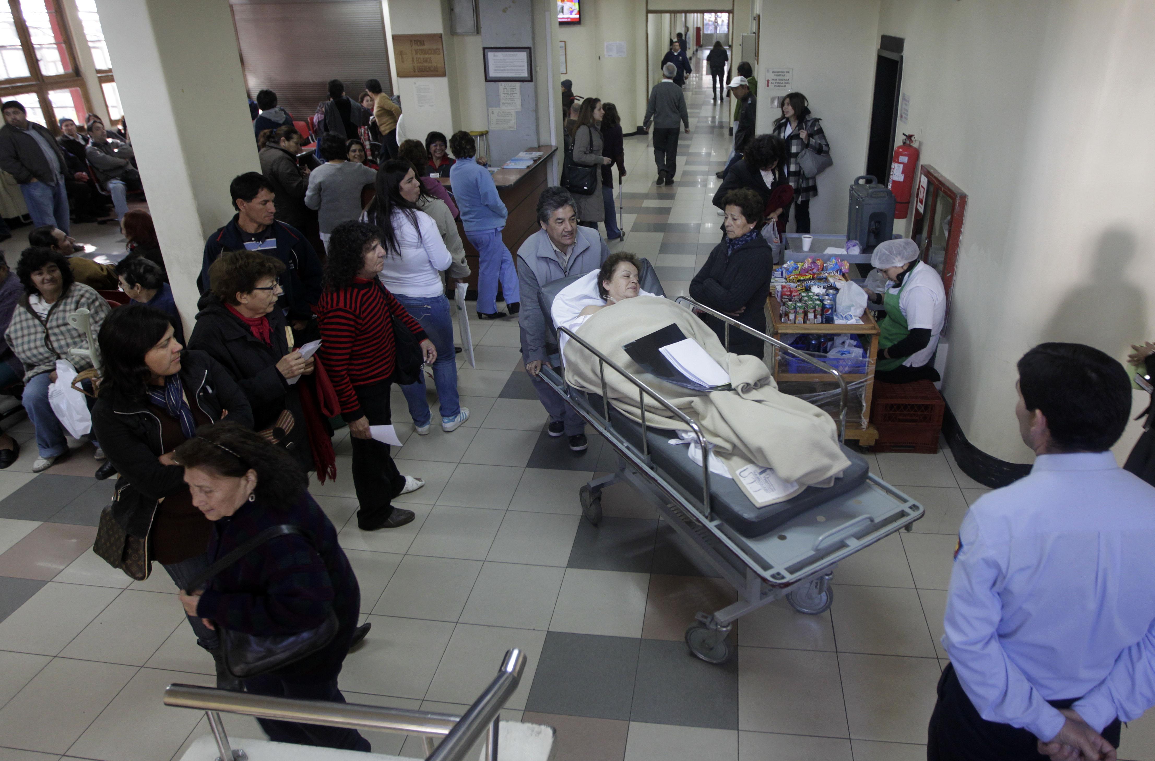 Salud tambalea: deuda hospitalaria 2016 llega a $191 mil millones, cifra más alta de los últimos cinco años