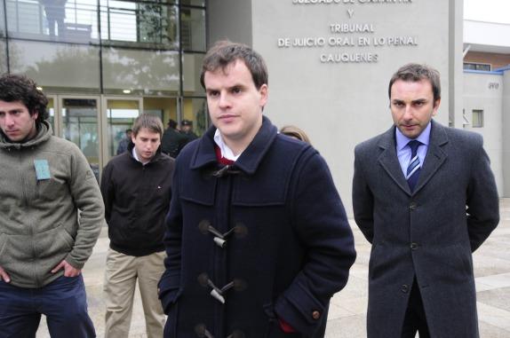 Comienza el juicio contra Martín Larraín