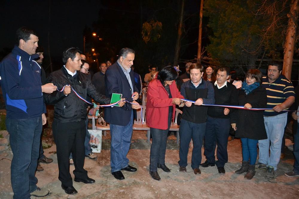 Se inaugura proyecto eléctrico en Freirina financiado por Guacolda