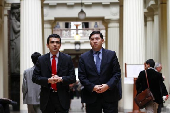 Alegatos de revocacion de libertad para ex directivos de CNA y UP V