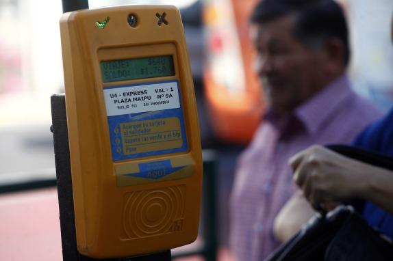 Alza de 20 pesos en el valor del pasaje en el transporte publico.