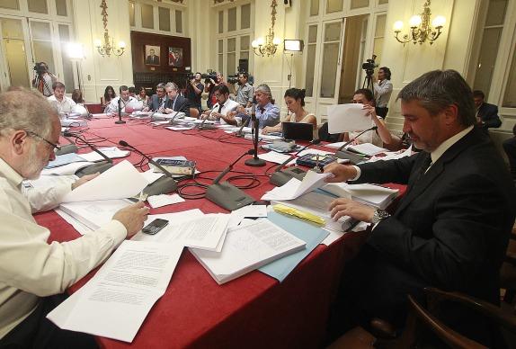 Comisión de Hacienda y de Educación