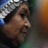 Marcha por la liberacion del pueblo mapuche