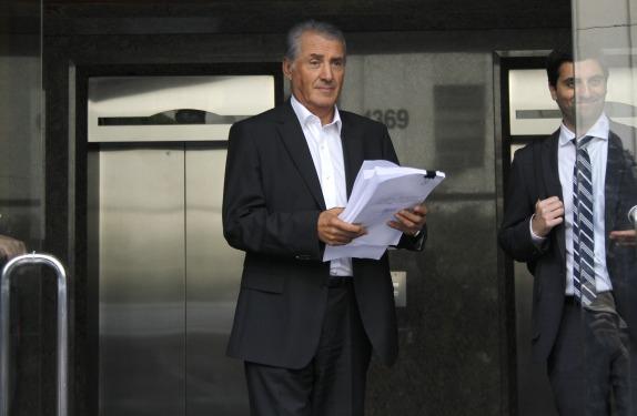 Imputados caso Penta declararon en la Fiscalia Nacional