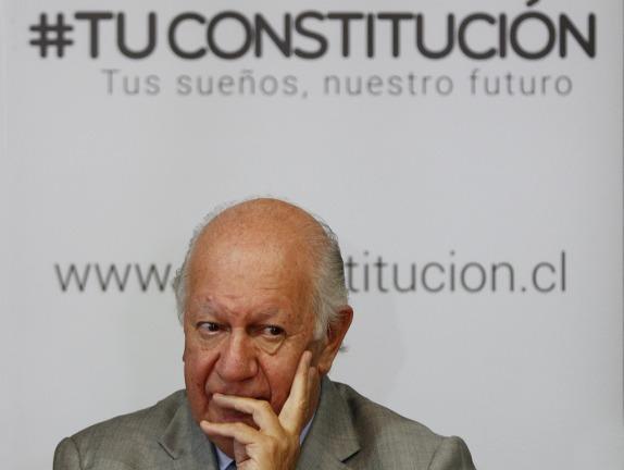 Ricardo Lagos  participa del lanzamiento de una nueva plataforma digital que busca incentivar la participación de todos los chilenos en la proposición de ideas y conceptos que podrían incorporarse en una nueva Constitución para Chile.
