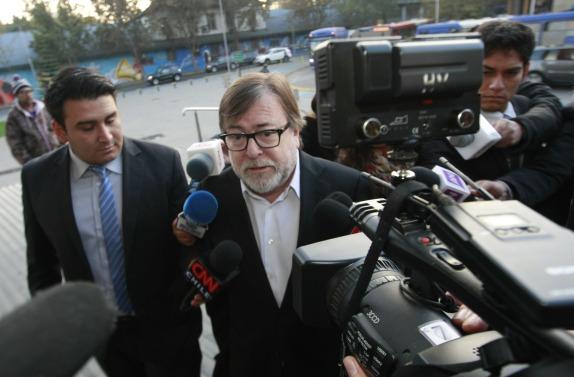 Jaime de Aguirre declara por caso Penta