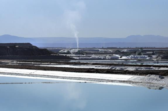 Plantas procesadoras del Litio en Salar de Atacama