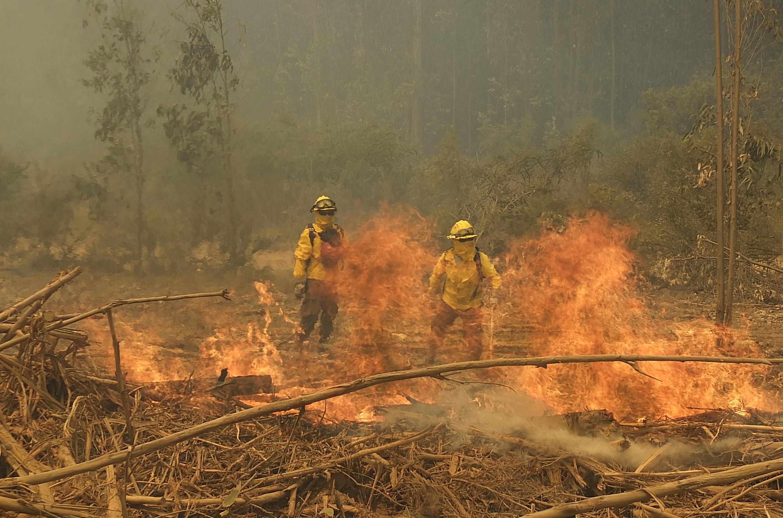 Conaf denuncia hallazgo de 'paracaídas' para provocar incendio en San José de Maipo