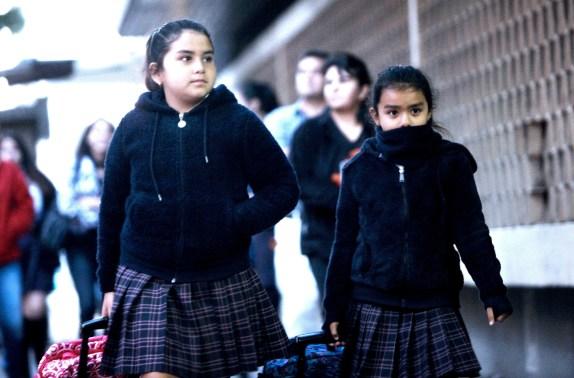 Primer día de clases en Concepción