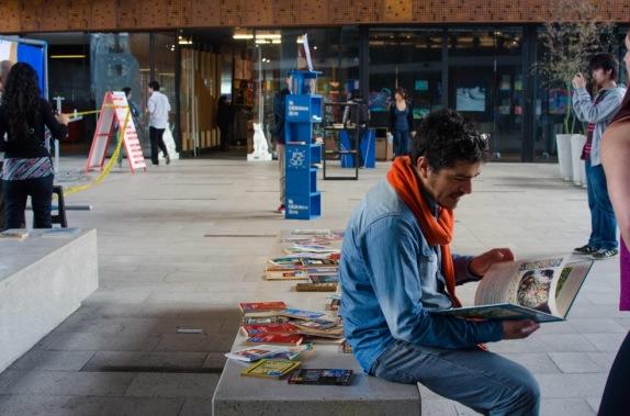 La Biblioteca Libre en el Gam.