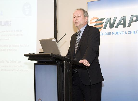 El gerente general de Enap, Marcelo Tokman, presentó el Reporte de Sustentabilidad 2014 en el hotel Doubletree by Hillton | ENAP