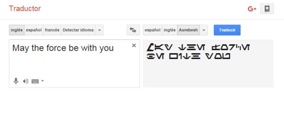 Google Ahora Traduce El Idioma De Star Wars El Dínamo