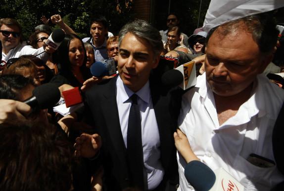 Marco Enriquez Ominami se retira de la Fiscalia Nacional
