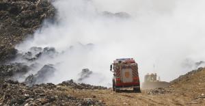 Incendio en Vertedero Santa Marta