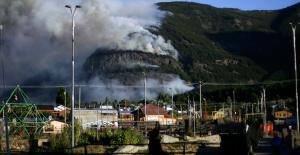 Incendio en cerro Divisadero de Coyhaique