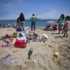 VALPARAISO: Playa Caleta Portales tras año Nuevo