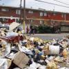 Basura en las Calles del Sector Sur de Santiago