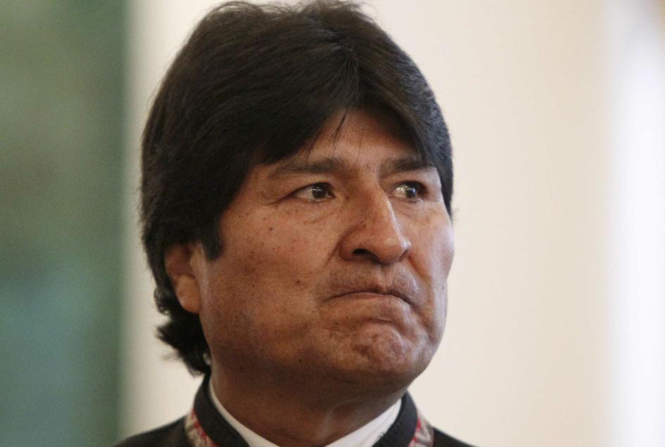 VIDEO |La pesada broma de la que habría sido víctima Evo Morales, pero que no era real