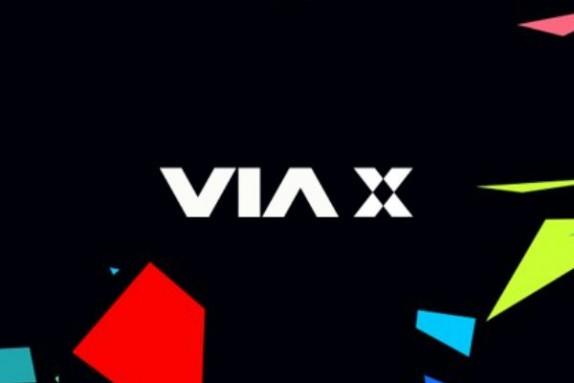 via x