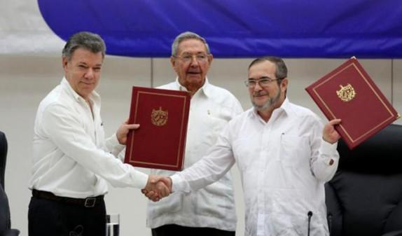 FARC-EP y Gobierno colombiano pactan cese al fuego definitivo