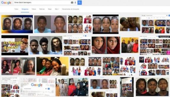 'Tres adolescentes negros' es muy distinto de 'Tres adolescentes blancos'