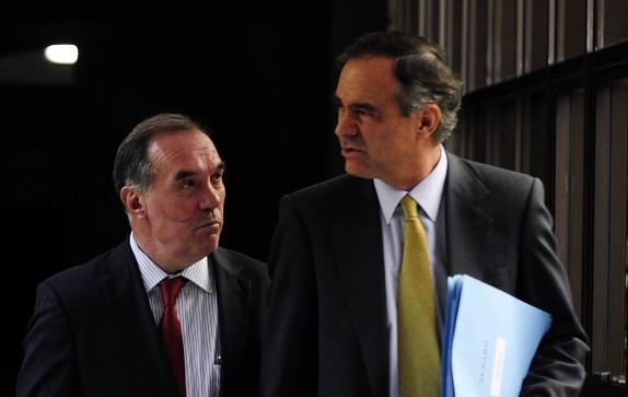 Ignacio Walker y Jaime Orpis